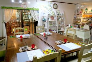 大阪のカラーワイヤークラフト教室 プリシラ工房