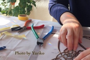 カラーワイヤークラフト教室 ますいゆりこの夢工房 桝井由里子