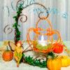 【9/20~10/28・大阪市東成区】秋のワイヤークラフト1dayレッスン《ハロウィンハンキング》