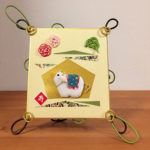 リビングカルチャー倶楽部 豊中教室 カラーワイヤで作る「和風フレームとお正月干支色紙」