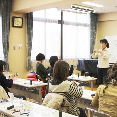 カラーワイヤー教室 ワイヤークラフト教室